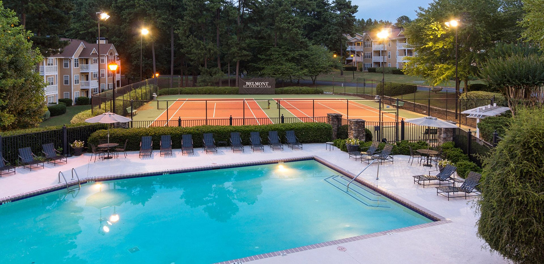 Belmont at Park Bridge pool