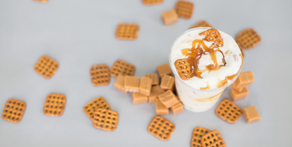 carmel pretzel crunch ice cream