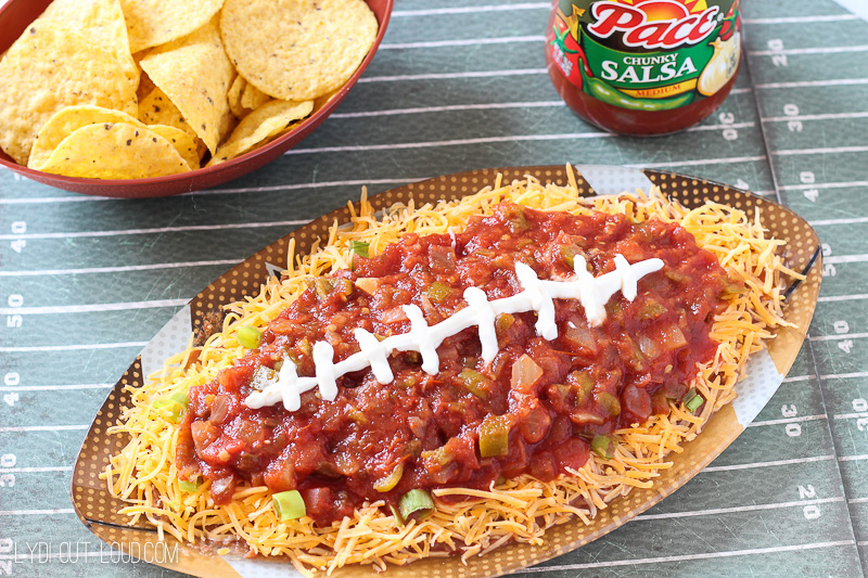 Tailgating chips and salsa