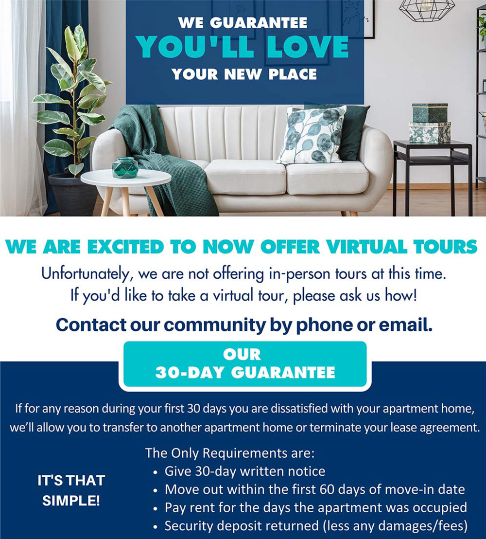 You'll Love Your New Place