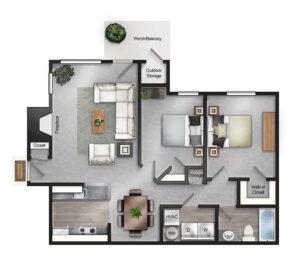 Preakness floor plan
