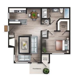 The Derby floor plan