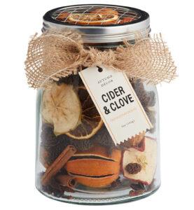 cider and clove jar