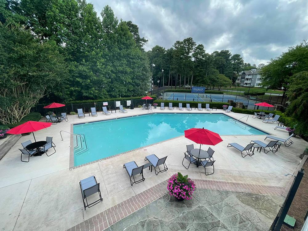 Belmont Park Bridge Pool